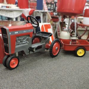 Model 1100 390 Massey Ferguson Pedal Tractor and Trailer