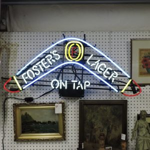 Foster's Lager Beer Neon Sign