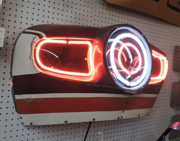 Airplane Neon Sign Display
