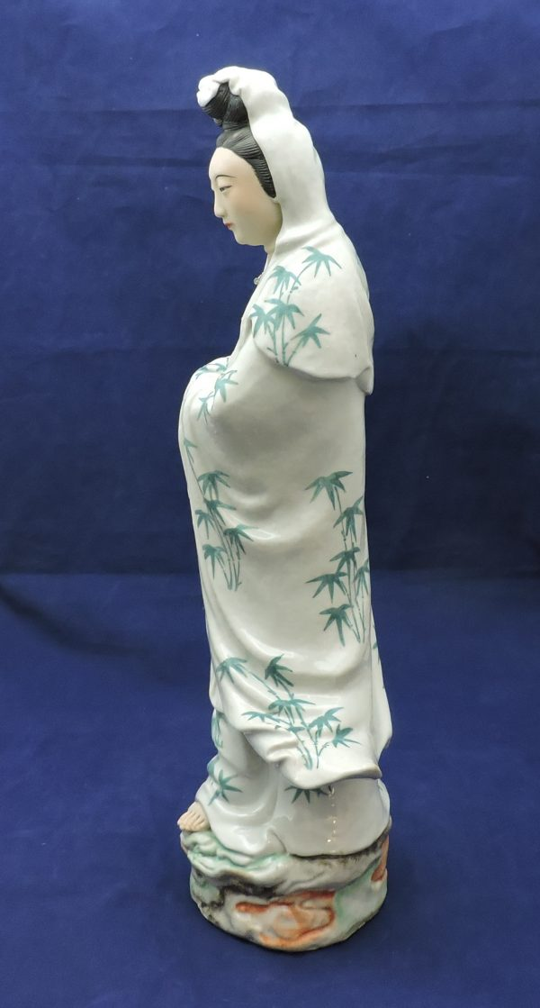 Chinese Porcelain Figure of Guanyin
