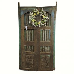 Early Made Wooden Security Doors