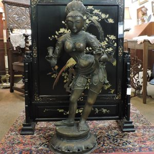 19th Century Bronze Sculpture Parvati Consort of Shiva