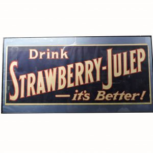 Strawberry Julep Sign