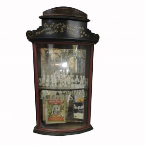 J.H. McLeans Medical Display Case and Almanac
