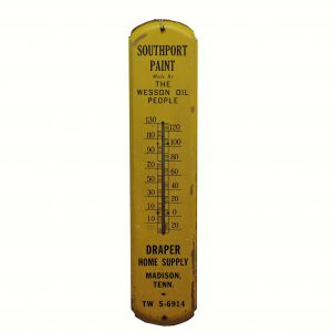 1940 South Point Wesson Oil Thermometer