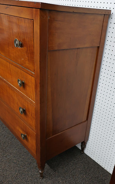 Sheraton Tiger Maple Butler's Chest