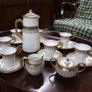 Cauldon English Porcelain Chocolate Set