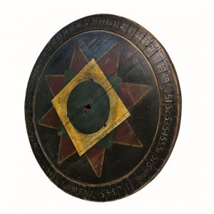 Early Wooden Game Wheel