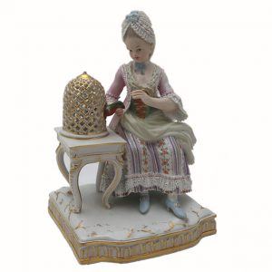 Meissen German Porcelain Figurine