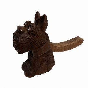 Scottie Dog Nut Cracker Black Forest