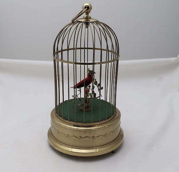 Karl Griesbaum Germany Mechanical Singing Bird