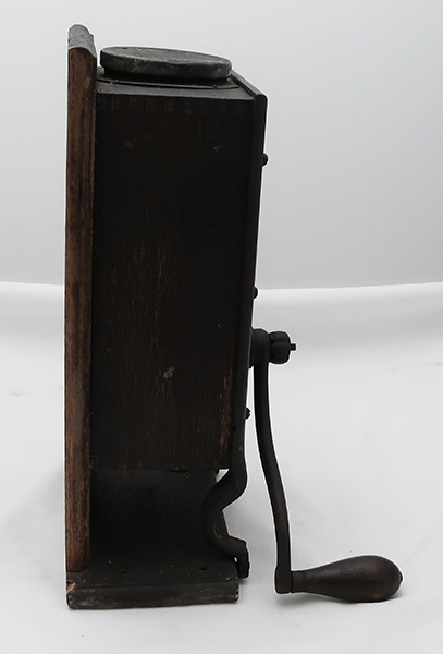 Very Early Telephone Mill Coffee Grinder