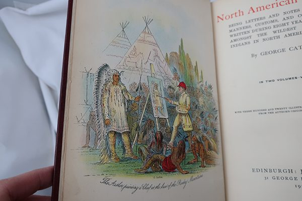Vol. 1 and 2: The North American Indians by George Catlin Hardback Books