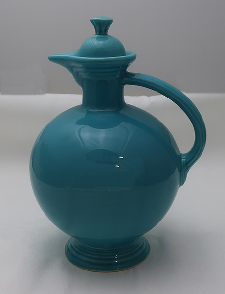 Fiesta Turquoise Carafe and Stopper