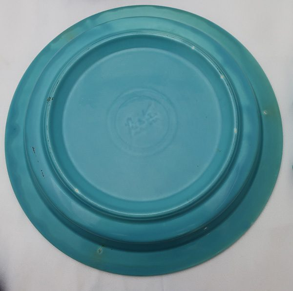 Fiesta Cobalt and Turquoise Relish Tray