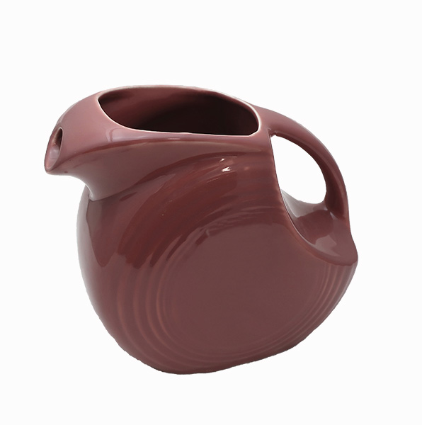 Fiesta Rose Color Disc Pitcher