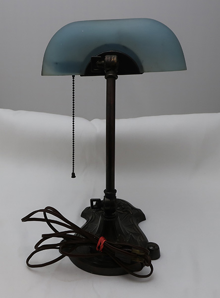 Pittsburg Reverse Painted Seascape Desk Lamp