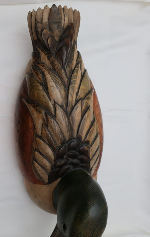 Tom Taber Ducks Unlimited Duck Decoy
