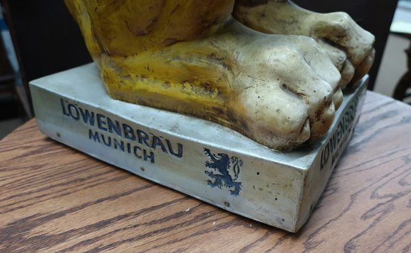 German Lowenbrau Munich Lion Sculpture