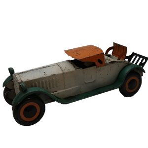 Schieble Pressed Steel Toy Coup Roadster Car-17 ½""