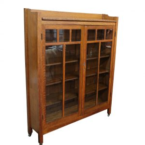 Large Oak Antique Book Case