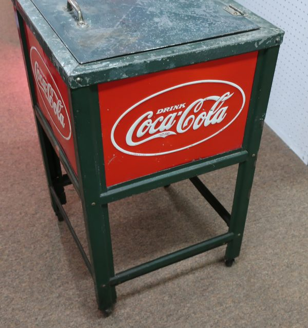 Original Glascock Junior Coca-Cola Cooler