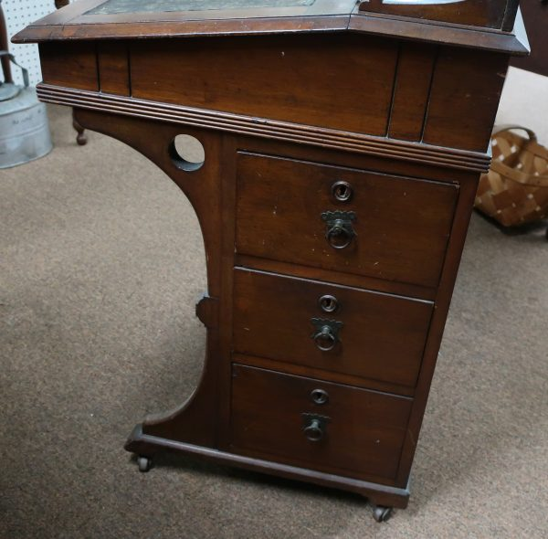 Victorian Davenport Lift Top Desk