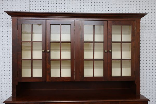 Cherry China Stepback Cabinet-2 Piece D.R. Dimes