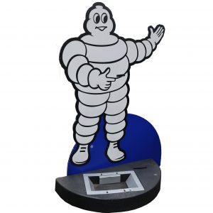 Michelin Man Standee Store Display