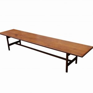 Mid-Century Jens Risom 7 Foot Long Coffee Table-Rare