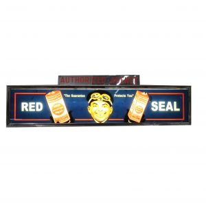 Vintage Red Seal Dry Light Up Sign