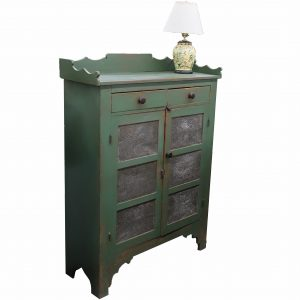 Antique Green Pie Safe
