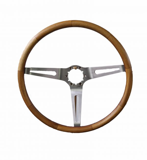 Vintage Teakwood Steering Wheel