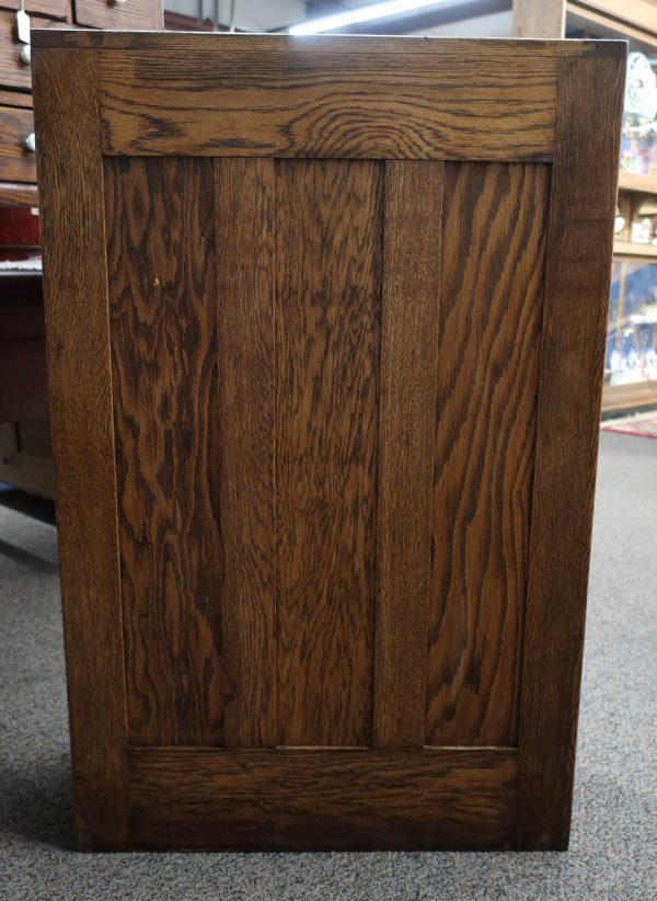 Vintage Wood Card File Cabinet