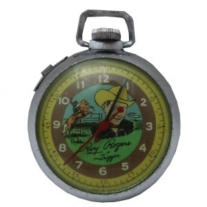 1950's Roy Rogers Pocket Watch