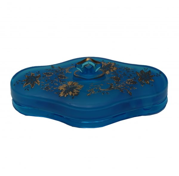 Cambridge Wildflower Vanity Make-up Compact with Lid