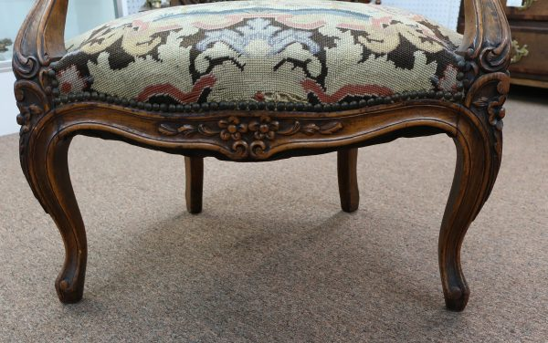 19th Century French Provincial Fauteuil Armchair