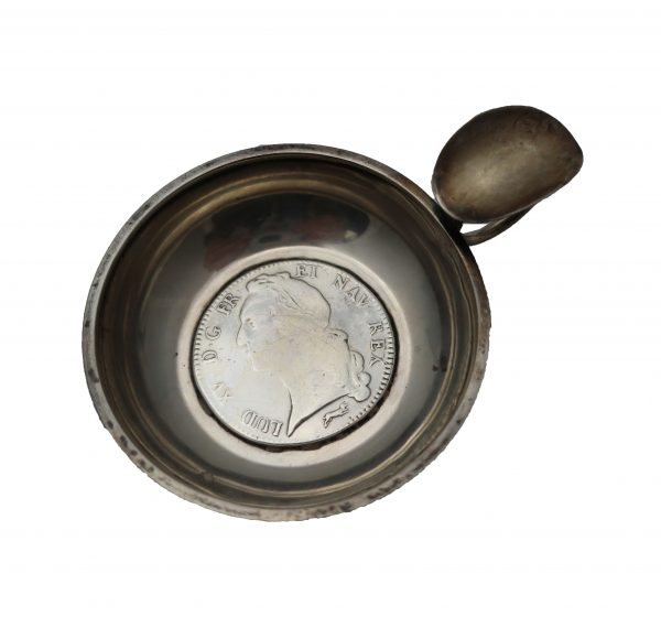 1756 Coin Wine Tester Cup
