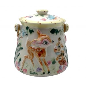 Vintage Bambi Cookie Jar