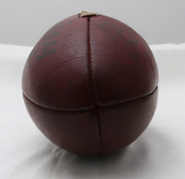 Early Rugby All Leather Mellon Style Football