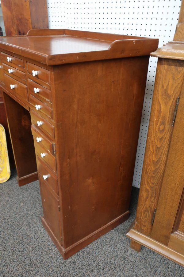 Cherry 11 Drawer Jewelers Bench