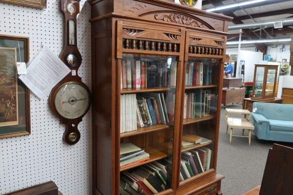 Cherry Knock Down Bookcase with Adjustable Shelves