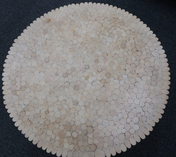 Vintage Sheaf of Wheat Coffee Table