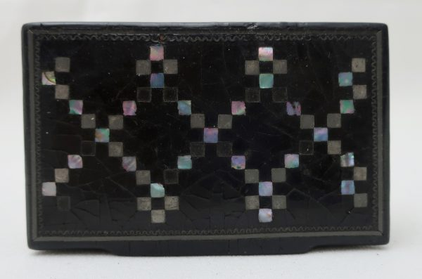 Early Snuff Box with Inlay
