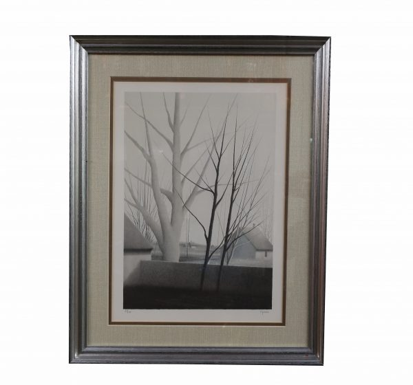 "Robert Kipniss Signed Lithograph ""Almost Spring"""