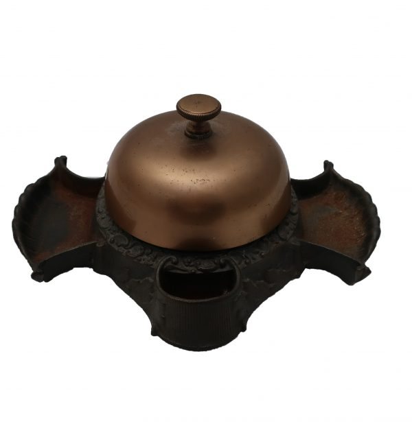 Russell and Erwin Brass and Cast Iron Counter Top Bell-Patent 1893