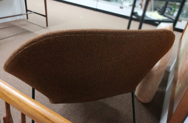 Very Early Eero Saarinen Womb Chair and Ottoman