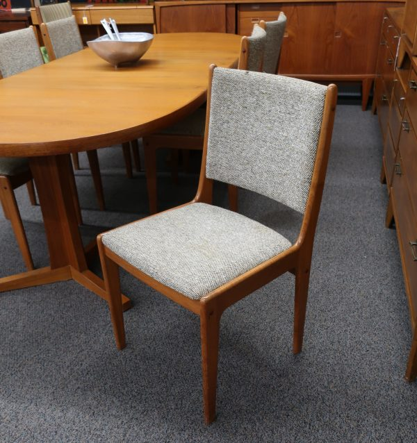 Set of 6 Danish Teak Dining Chairs