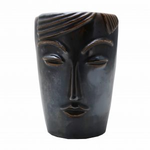 Weller Novelty Face Vase