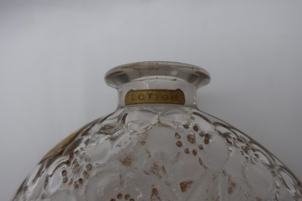 Signed R. Lalique Dorsay Perfume Bottle